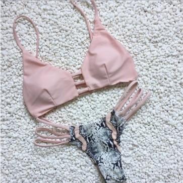 Push up Bra Bandage Bikini Set Swimsuit Bathing Suit