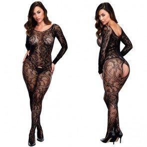 Lace Open Crotch Body stocking Hosiery (3 pcs / lot)