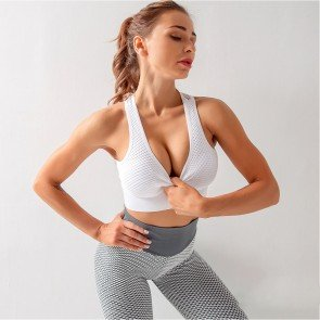 Yoga mesh training jogging gym sports vest sportswear