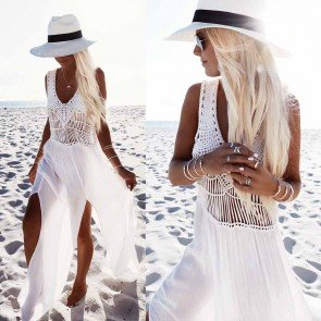 Chiffon Swimwear Bikini Cover Up Sarong Beach Dress