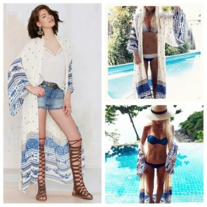 Bikini Swimwear Cover Up Beach Dress Kaftan Clothing