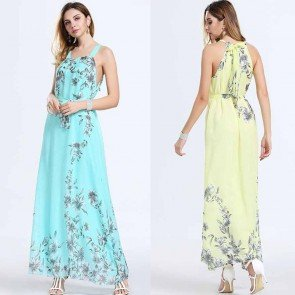 Long Maxi Dress Sleeveless Beach Sundress Party Dresses