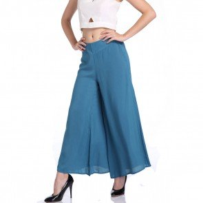Vogue Long Pants Comfy Elastic High Waist OL Trousers