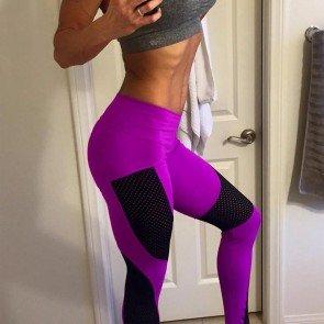 Fashion Yoga Sports Sexy Slim Women's Sports Pants