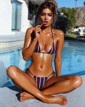Bandeau Bra Bandage Swimsuit Bathing Suit Swimwear