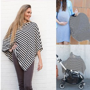 Breastfeeding Baby Car Seat Canopy Cover Nursing Scarf