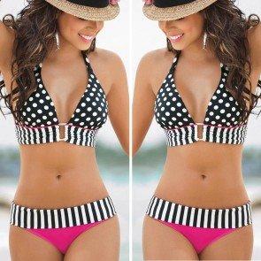 Swimwear Bikini Push-Up Bra Padded Swimsuit Beachwear