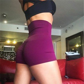 Butt Booty Shorts Gym Workout Exercise Scrunchy Lift