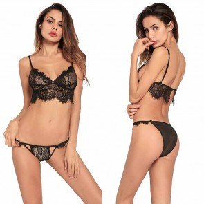 Lover Beauty Fashion Sexy Lace Lingerie Set Underwear