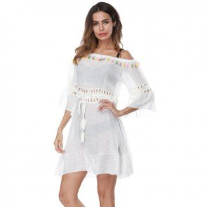 Swimwear Bikini Cover Up Beach Dress Womens Coverups