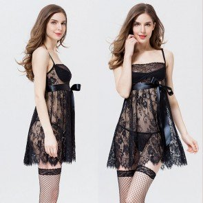 Lingerie BabyDoll Sleepwear Nightgown Dress Nightwear