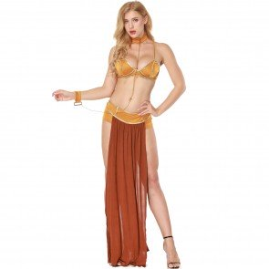 Star Wars Cosplay Costumes Princess Leia Slave Costume