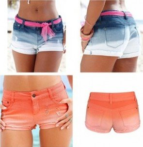 Low Waist Shorts Jeans Casual Skinny Denim Hotpants