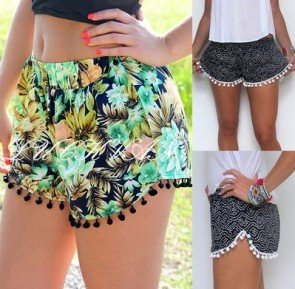 Lady Sexy Pants Summer Casual Shorts High Waist Shorts