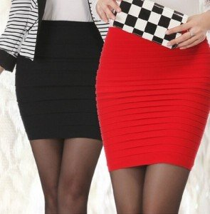Short Sexy Clothing High Waist Seamless Lady Mini Skirt