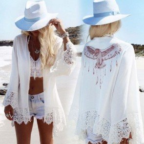 Crochet Summer Bikini Swimwear Cover Up Beach Dress
