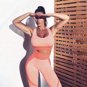 Women Sports Set Fitness Bra Seamless Leggings