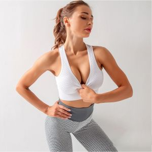 Yoga mesh training jogging gym sports vest sportswear