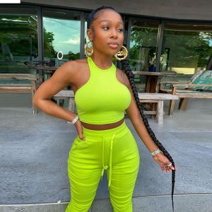 Women Two Piece Set Top and Pants Fitness Sweat Suit