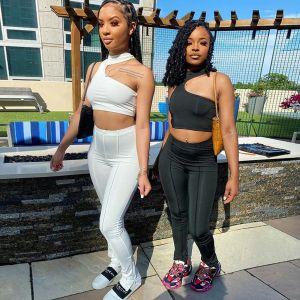 Fitness Gym Yoga Leggings Trousers Pants Tank Top Bra