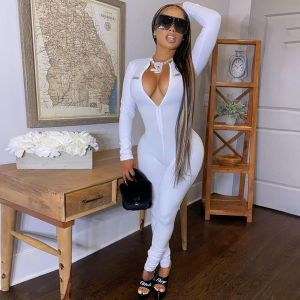 LUCKY LABEL Long Sleeve Zipped Jumpsuit