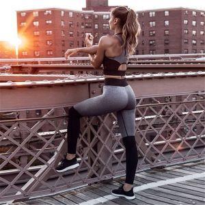 Jogging 2 Piece Bra Pants Exercise Fitness Sport Suit